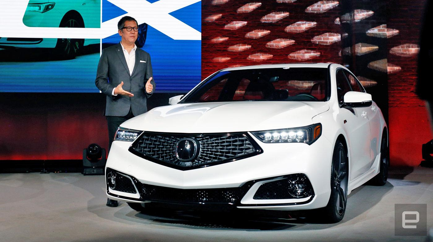 With Its 2018 Tlx Acura Learns The