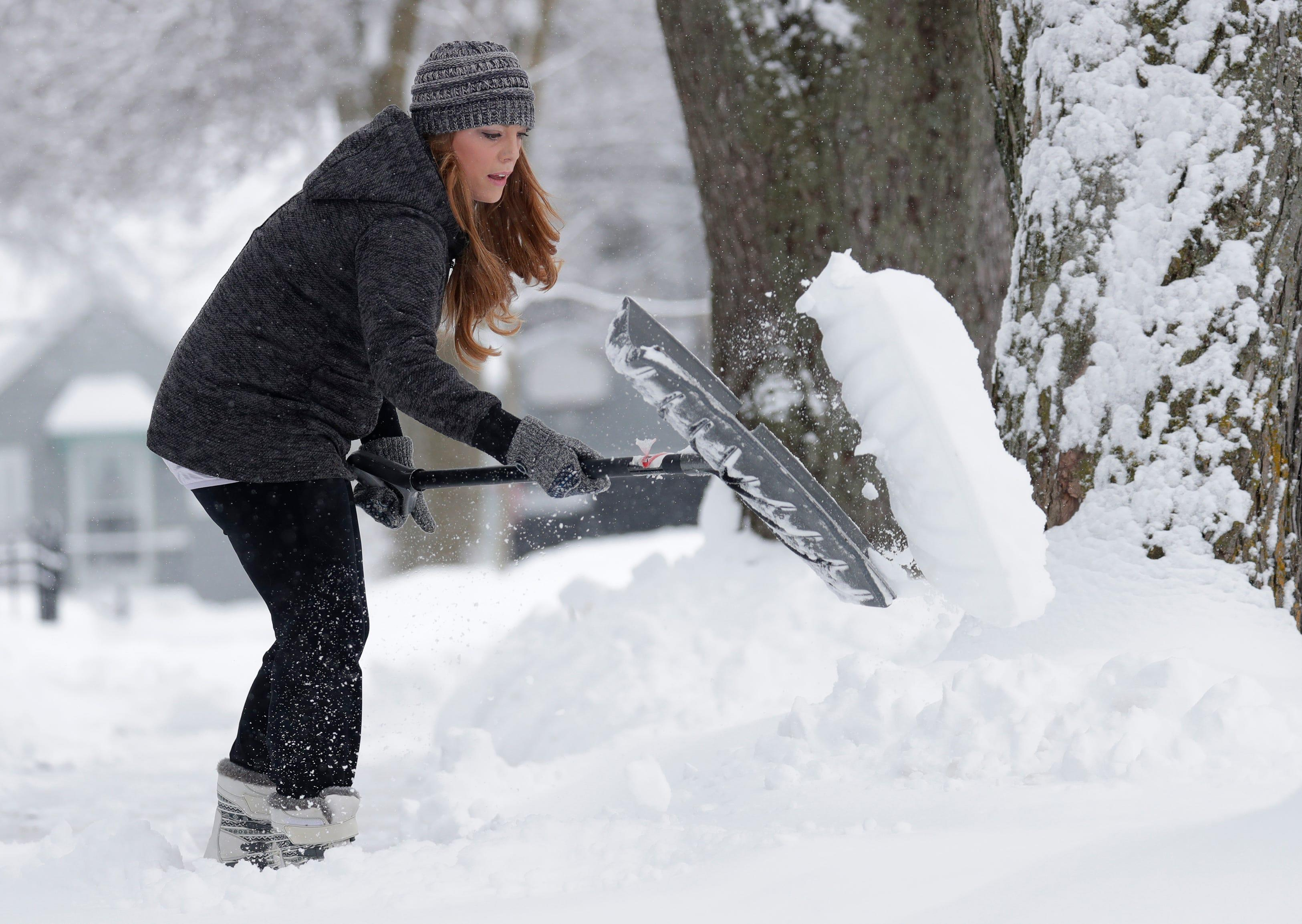 Winter 'will lose much of its punch': Climate change may diminish big snowstorms in the USA