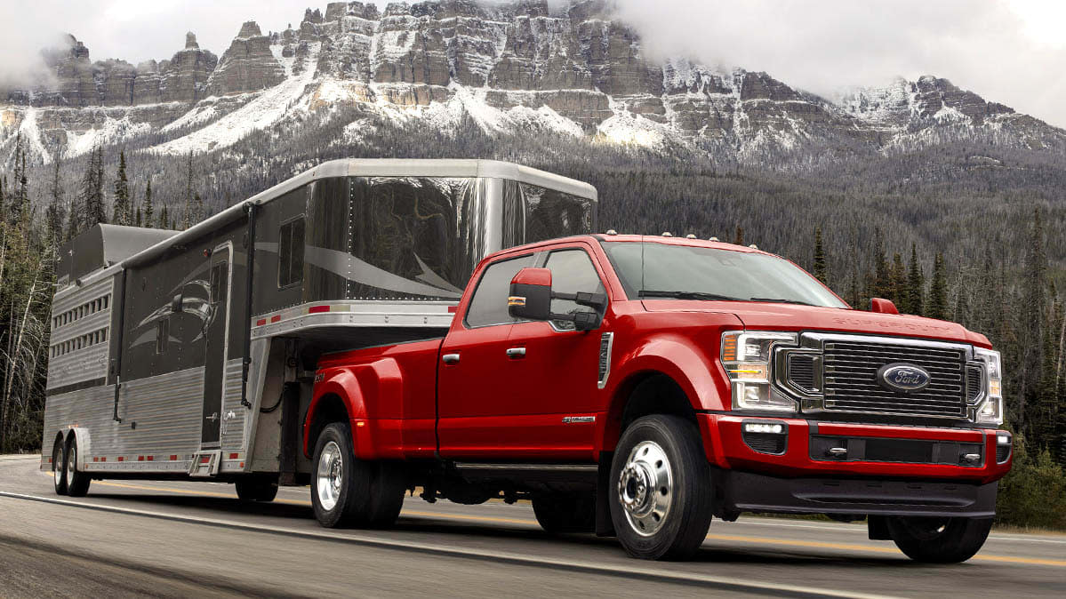 ford super duty pickup truck preview
