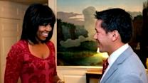 Michelle Obama Debuts New Hairstyle on Her 49th Birthday