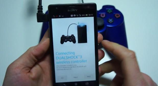 Finally, you can bring a DualShock 3 with you to play mobile phone games