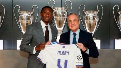 Alaba teste positivo para Covid-19 e abandona treino no Real Madrid