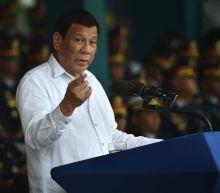 Philippines' Duterte slams China over island-building