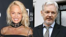 Pamela Anderson's New Crusade Is Inspired by Rumored Boyfriend Julian Assange