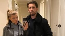 Sofia Richie and Scott Disick Enjoy Romantic Valentine's Day Dinner Together in Montecito