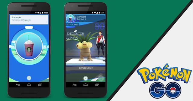 Starbucks locations are now 'Pokémon Go' Gyms or Pokéstops