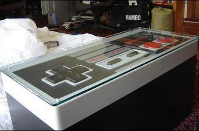 NES coffee table is so much more