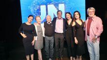Bonner, Fátima, Gloria Maria e mais comemoram 50 anos do 'Jornal Nacional'