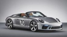 Porsche 911 Speedster Brings Its Retrolicious Body To Goodwood