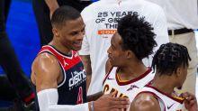 120-105. Ante los Cavaliers, Westbrook logra otro triple-doble y los Wizards  se aseguran en los play-in
