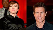 """Scarlett Johansson niega el mayor rumor de su vida: """"Nunca hice un casting para ser la novia de Tom Cruise"""""""