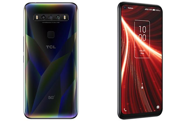 TCL's latest phone has 5G speeds and solid specs for just $400
