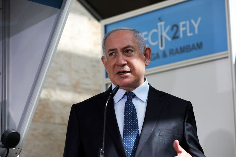 Israel in talks with Pfizer over potential COVID-19 vaccine, PM says