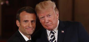 Trump, Macron call for new Iran nuclear deal