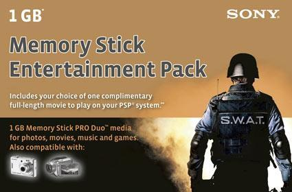 Sony sells Memory Sticks with movies ... so it does work then?