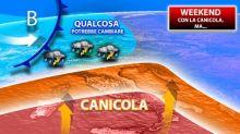 Fine settimana con caldo africano a 40°c e temporali