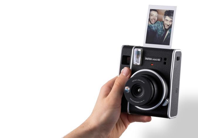 Fujifilm goes full retro with the $100 Instax Mini 40