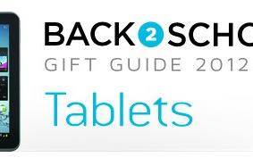 Engadget's back to school guide 2012: tablets