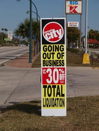 All Circuit City stores closing permanently on March 8th