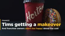 Tims to revamp restaurants and some franchisees aren't too happy about it