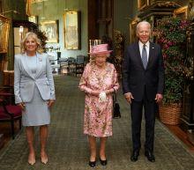 Joe, Jill Biden join Queen Elizabeth II at Windsor Castle for tea following G-7 Summit