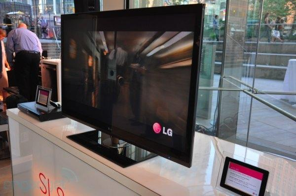 LG unveils new slim design LCD HDTVs due this fall