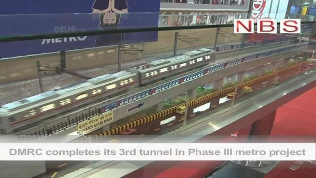DMRC completes its 3rd tunnel in Phase lll metro project