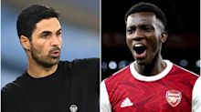 'It's my fault' – Mikel Arteta takes blame for Eddie Nketiah's lack of minutes