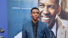 """Denzel Washington, que bancou estudos de Boseman, elogia ator: """"Alma gentil"""""""