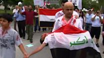 Calls for and against U.S. involvement in Iraq