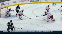 Gaborik's shot deflects past Smith on the PP