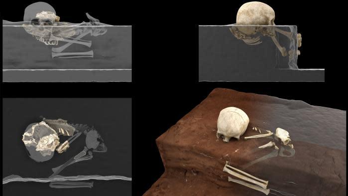 L'enfant Mtoto, inhumé il y a 78 000 ans : les archéologues mettent au jour la plus ancienne sépulture d'homme moderne d'Afrique