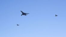 U.S. bomber flies over Baltic states in show of solidarity: U.S. Air Force