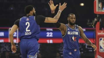 Team LeBron prevails late in All-Star Game