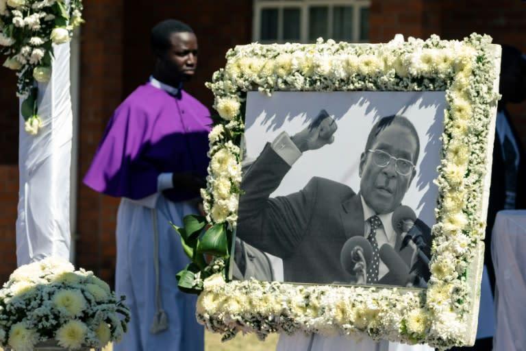 Reinforced grave, tamper-proof casket: battle for Mugabe's corpse