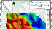 Delrey Provides Corporate Update