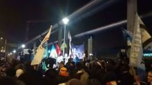 Protesters Surround State Broadcaster in Budapest