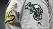 Fan who threw 96 mph in radar gun booth shines in Athletics minor league debut