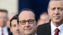 Pour François Hollande, la présence de la Turquie dans l'Otan doit être remise en cause