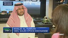 Inclusion in MSCI index is a 'big milestone' for Saudi market, stock exchange boss says