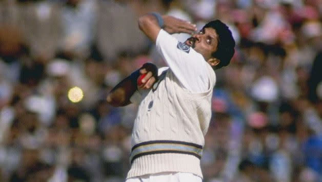 Kapil Dev's hat-trick helped India win the Asia Cup