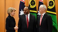 Australia works on security deal with Vanuatu in bid to counter China's influence