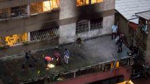 Gobierno venezolano borra evidencias en el edificio donde cayó el supuesto 'dron asesino'