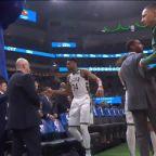 The Milwaukee Bucks prepare to restart the season