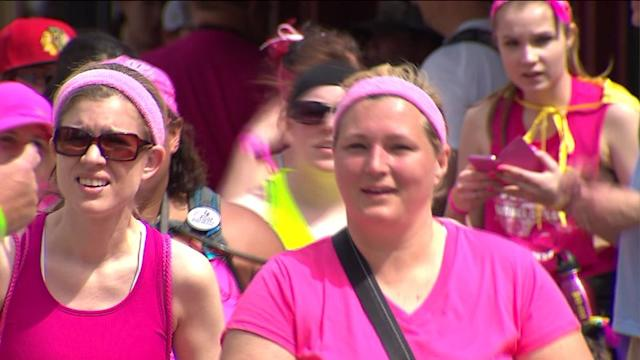 Breast Cancer participants raise awareness, money