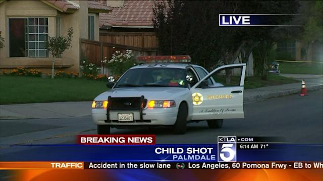 Child in Extremely Serious Condition After Palmdale Shooting