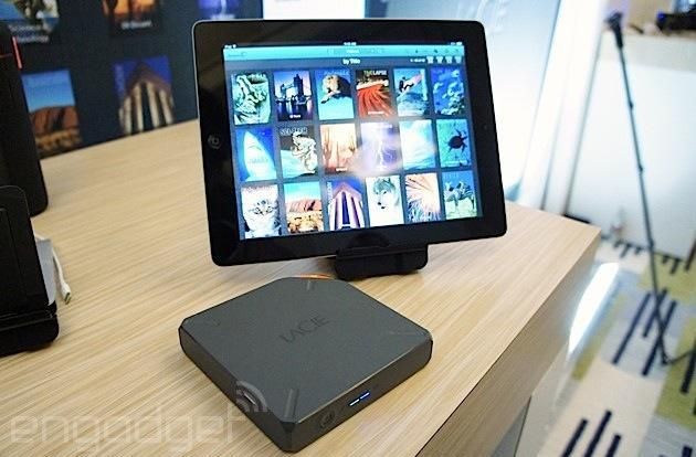 LaCie Fuel brings 1TB of wireless streaming storage to your Apple devices for $199