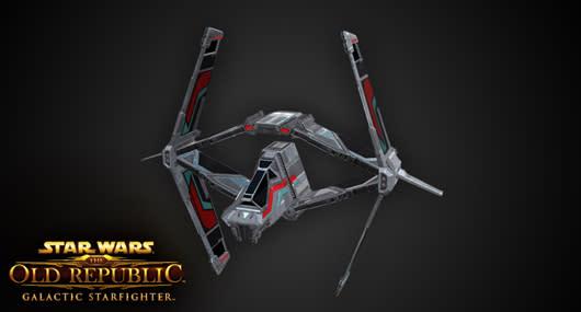 SWTOR's Strike Fighter is kinda like an X-Wing