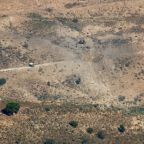 Israeli aircraft strike rocket launch sites in Lebanon, military says