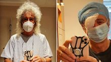 Queen legend Brian May undergoes eye surgery to improve vision